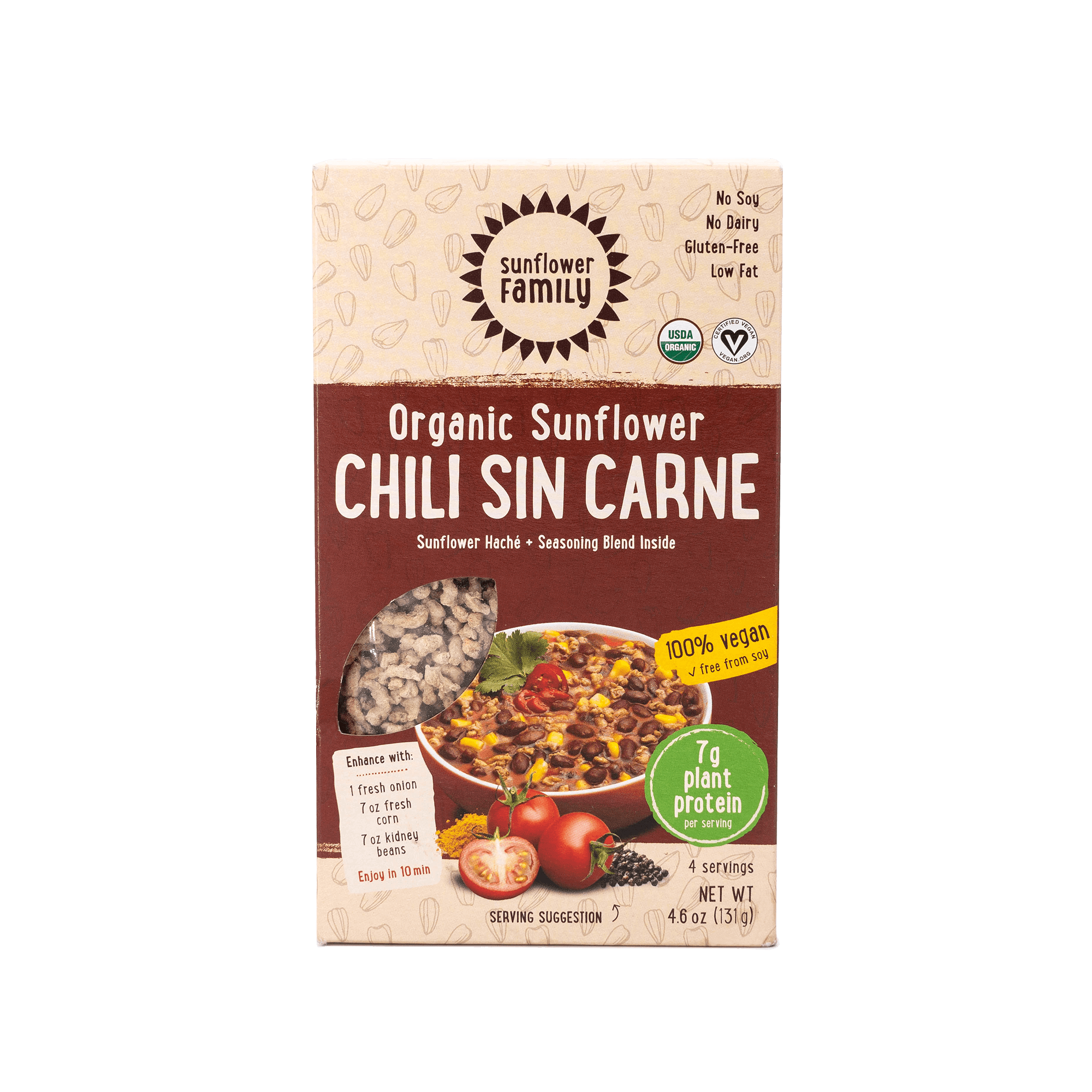 Organic Sunflower Chili Sin Carne