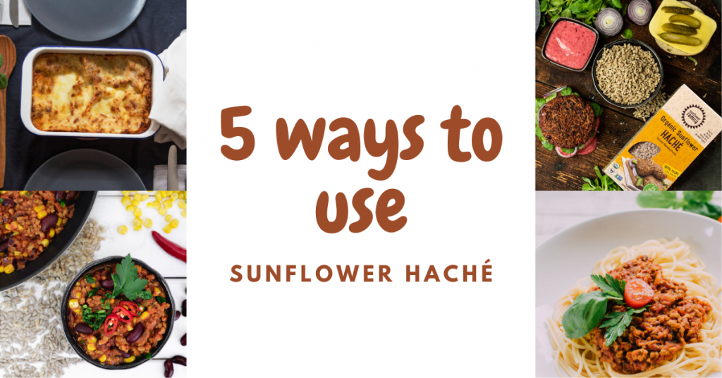 5 ways to use sunflower haché blog