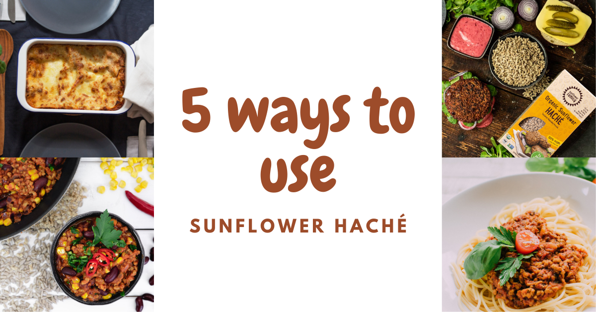 5 Ways to Use Sunflower Haché